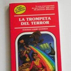Libros de segunda mano: LA TROMPETA DEL TERROR - LIBRO JUEGO - ELIGE TU PROPIA AVENTURA - Nº 46 - TIMUN MAS - OTROS EN VENTA. Lote 65950482