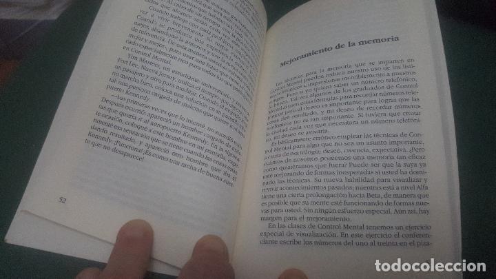 Libros de segunda mano: CONTROL MENTAL. INTRODUCCION AL METODO SILVA - Foto 2 - 65974078