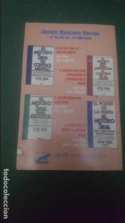 Libros de segunda mano: CONTROL MENTAL. INTRODUCCION AL METODO SILVA - Foto 3 - 65974078