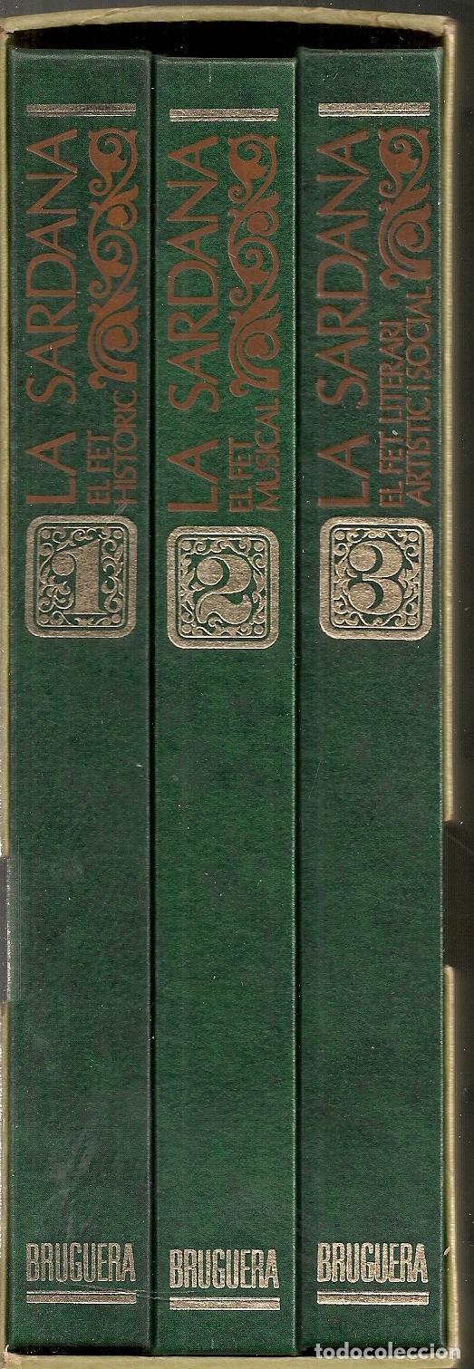 Libros de segunda mano: La sardana. El fet historic. El fet musical. El fet literari i social / A.V. BCN : Bruguera, 1972. - Foto 2 - 66030830