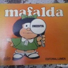 Libros de segunda mano: LIBRO MAFALDA INEDITA POR QUINO EDITORIAL LUMEN. Lote 66164826