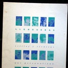 Libros de segunda mano: ESTILOS Y TECNICAS QUE PERSONALIZAN - LUIS LLONGUERAS - 1996 - FOTOGRAFIAS. Lote 66195246