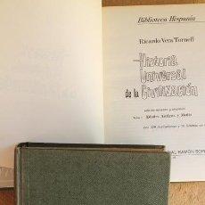 Libros de segunda mano: HISTORIA DE LA CIVILIZACIÓN. HISPANIA SOPENA. R.V. TORNELL. DOS TOMOS.. Lote 66212418