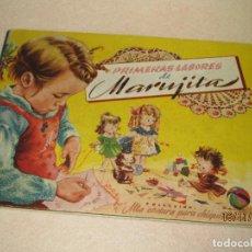 Libros de segunda mano: PRIMERAS LABORES DE MARUJITA COLECCIÓN ALTA COSTURA PARA CHIQUITINAS, EDITORIAL MOLINO DEL AÑO 1948. Lote 66498470