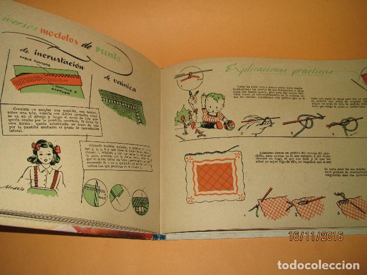 Libros de segunda mano: Primeras Labores de MARUJITA Colección Alta Costura para Chiquitinas, Editorial MOLINO del Año 1948 - Foto 5 - 66498470