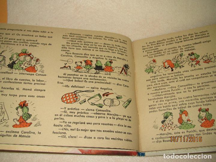 Libros de segunda mano: Primeras Labores de MARUJITA Colección Alta Costura para Chiquitinas, Editorial MOLINO del Año 1948 - Foto 12 - 66498470