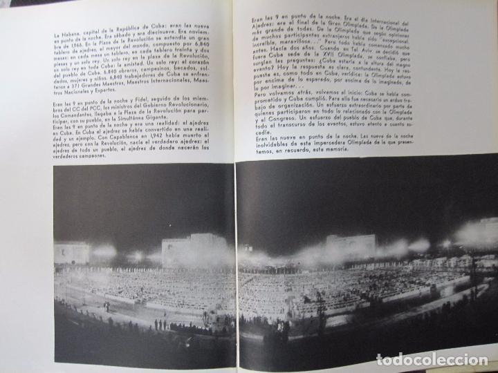 Libros de segunda mano: CUBA 66. XVII OLIMPIADA MUNDIAL DE AJEDREZ. HABANA, CUBA. 1968. ILUSTRADO. EN ESPAÑOL - Foto 3 - 66512418