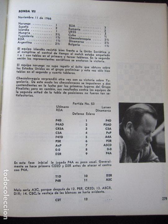 Libros de segunda mano: CUBA 66. XVII OLIMPIADA MUNDIAL DE AJEDREZ. HABANA, CUBA. 1968. ILUSTRADO. EN ESPAÑOL - Foto 6 - 66512418