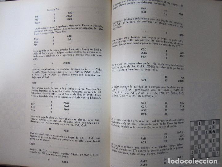 Libros de segunda mano: CUBA 66. XVII OLIMPIADA MUNDIAL DE AJEDREZ. HABANA, CUBA. 1968. ILUSTRADO. EN ESPAÑOL - Foto 7 - 66512418