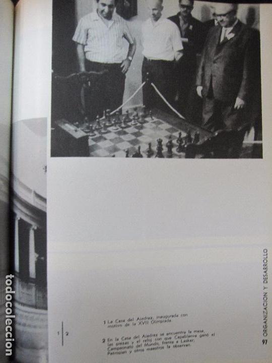 Libros de segunda mano: CUBA 66. XVII OLIMPIADA MUNDIAL DE AJEDREZ. HABANA, CUBA. 1968. ILUSTRADO. EN ESPAÑOL - Foto 10 - 66512666
