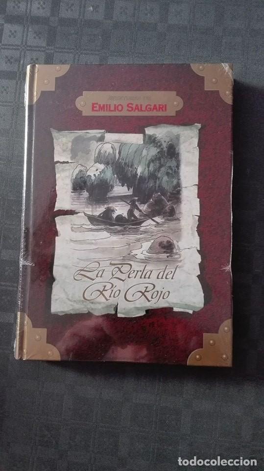 AVENTURAS DE EMILIO SALGARI /LA PERLA DEL RIO ROJO (Libros de Segunda Mano - Literatura Infantil y Juvenil - Otros)