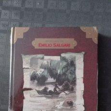 Libros de segunda mano: AVENTURAS DE EMILIO SALGARI /LA PERLA DEL RIO ROJO. Lote 66627766
