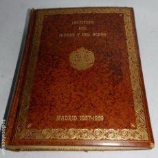 Libros de segunda mano: INSTITUTO DEL HIERRO Y DEL ACERO, CONSTRUCCION DEL EDIFICIO DE CIUDAD UNIVERSITARIA EN MADRID, 1957-. Lote 66828862