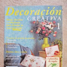 Libros de segunda mano: Nº 1 DECORACIÓN CREATIVA OBIS FABBRI FASCÍCULO COLECCIONABLES. Lote 66873214