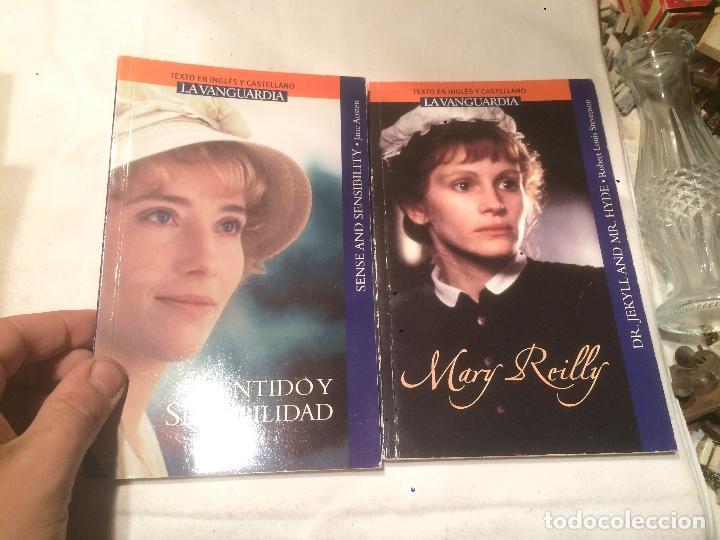 ANTIGUO 2 LIBRO SENTIDO Y SENSIBILIDAD Y MARY REILLY (Libros de Segunda Mano (posteriores a 1936) - Literatura - Otros)