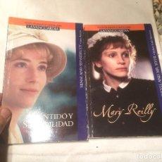 Libros de segunda mano: ANTIGUO 2 LIBRO SENTIDO Y SENSIBILIDAD Y MARY REILLY. Lote 66959478