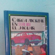 Libros de segunda mano: LIBRO AVENTURAS - PAKTO SECRETO , CARGA MORTAL EN EL JAGUAR, SUSAETA EDICIONES S.A. / BUEN ESTADO. Lote 68227283