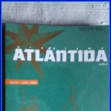 Libros de segunda mano: PROGRAMA ATLÁNTIDA. CADERNO DE FORMACIÓN, NAVEGACIÓN E OBSERVACIÓN DO MEDIO MARIÑO. XUNTA DE GALICIA. Lote 67027098