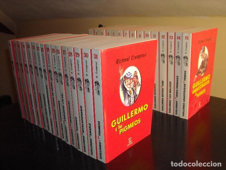 COLECCION GUILLERMO EL TRAVIESO (RICHMAL CROMPTON) COMPLETA 31 DE 31 TOMOS (Libros de Segunda Mano - Literatura Infantil y Juvenil - Otros)