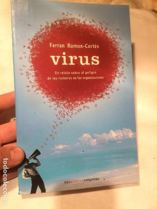 ANTIGUO LIBRO VIRUS ESCRITO PER FERRAN CORTÉS RAMON AÑO 2007 (Libros de Segunda Mano - Parapsicología y Esoterismo - Otros)