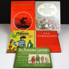 Libros de segunda mano: 8185 - LOTE DE 5 CUENTOS EN VARIOS IDIOMAS(VER DESCRIP). VV. AA. VV. EDITORIALES. 1963/1982.. Lote 67090449