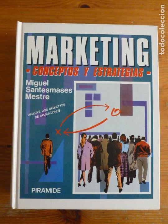 MARKETING. CONCEPTOS Y ESTRATEGIAS. SANTESMASES MESTRE. PIRAMIDE. 1991 873PP (Libros de Segunda Mano - Pensamiento - Otros)