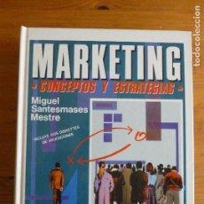 Libros de segunda mano: MARKETING. CONCEPTOS Y ESTRATEGIAS. SANTESMASES MESTRE. PIRAMIDE. 1991 873PP. Lote 67193029