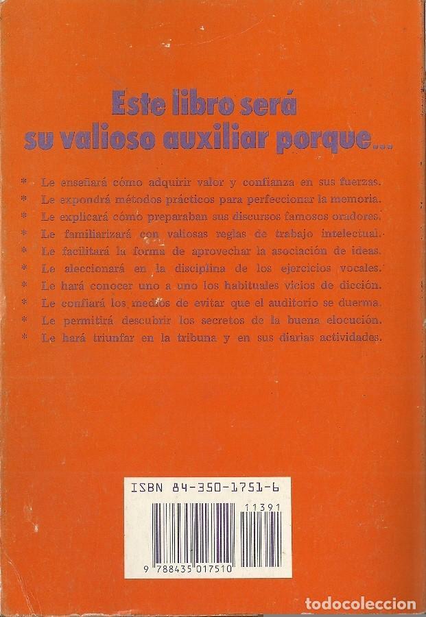 Libros de segunda mano: Dale Carnegie-Cómo hablar bien en público e influir en los hombres de negocios.1991.EDHASA. - Foto 2 - 165963190