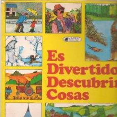Libros de segunda mano: ES DIVERTIDO DESCUBRIR COSAS. CLIPER / PLAZA & JANÉS. 1981. (Z/12). Lote 67294593