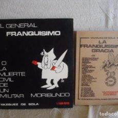 Libros de segunda mano: EL GENERAL FRANQUÍSIMO + LA FRANQUISSIMA GRACIA. Lote 67354405