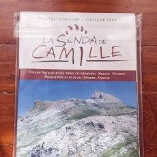 Libros de segunda mano: SENDA CAMILLE PIRINEOS MAPA. Lote 67387085