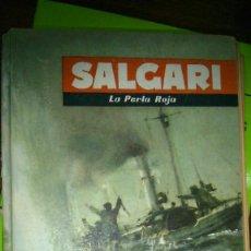 Libros de segunda mano: 1 LIBRO AÑO 1957 - LA PERLA ROJA ( EMILIO SALGARI ) - EDITORIAL MOLINO. Lote 67437669