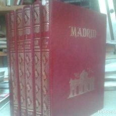 Libros de segunda mano: LIBROS ARTE MADRID - MADRID 5 TOMOS MAS 1 DE 100 MADRILEÑOS LUSTRES ESPASA CALPE 1980. Lote 67488873