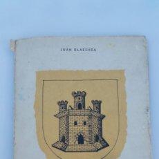Libros de segunda mano: VILLAFRANCA DE ORDIZIA. JUAN OLAECHEA. SAN SEBASTIÁN 1970. CAJA AHORROS MUNICIPAL SAN SEBASTIÁN . Lote 67502778