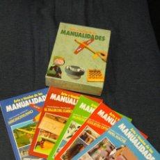 Libros de segunda mano: ARTE Y TECNICA DE LAS MANUALIDADES - CAJA CON 5 LIBROS - AEROMODELISMO, MUÑEQUERIA, PAPEL MACHE.... Lote 67546741