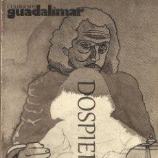 Libros de segunda mano: CUADERNOS GUADALIMAR Nº 4, JORGE CASTILLO, ED. RAYUELA, 1978. Lote 67582185