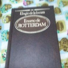 Libros de segunda mano: ELOGIO DE LA LOCURA. ERASMO DE ROTTERDAM. EST20B4. Lote 67614673