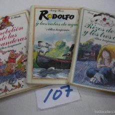 Libros de segunda mano: LOTE LIBROS INFANTILES - ALLEA BENJAMIN. Lote 67640569
