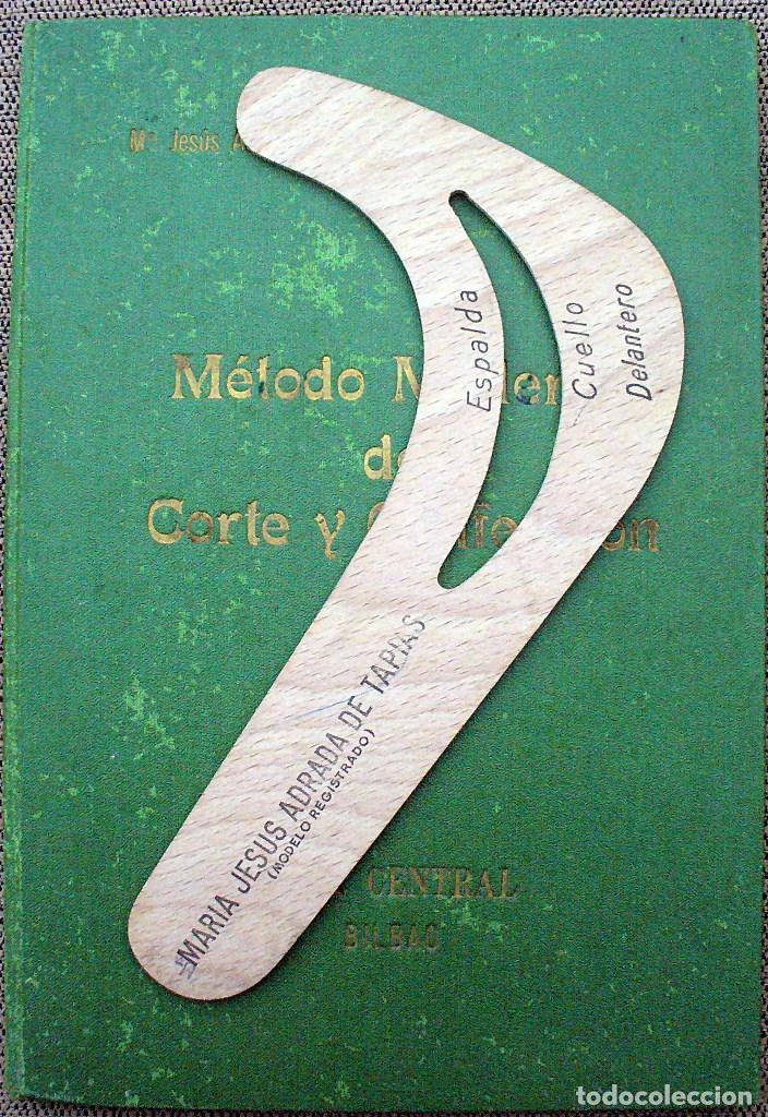 Libros de segunda mano: METODO MODERNO DE CORTE Y CONFECCIÓN - Mª JESUS ADRADA - CASA CENTRAL, BILBAO 1957 - Foto 2 - 67681813