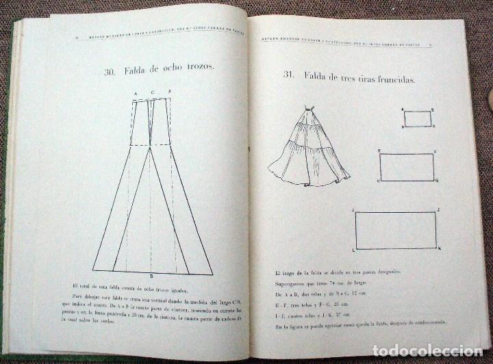Libros de segunda mano: METODO MODERNO DE CORTE Y CONFECCIÓN - Mª JESUS ADRADA - CASA CENTRAL, BILBAO 1957 - Foto 4 - 67681813