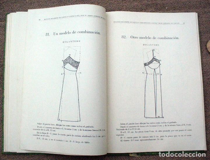 Libros de segunda mano: METODO MODERNO DE CORTE Y CONFECCIÓN - Mª JESUS ADRADA - CASA CENTRAL, BILBAO 1957 - Foto 5 - 67681813