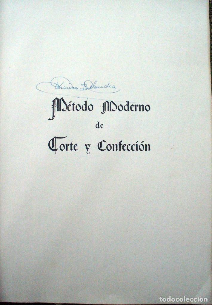 Libros de segunda mano: METODO MODERNO DE CORTE Y CONFECCIÓN - Mª JESUS ADRADA - CASA CENTRAL, BILBAO 1957 - Foto 7 - 67681813