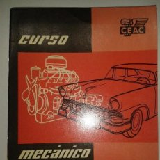 Libros de segunda mano: CURSO MECÁNICO DE AUTOMÓVILES 6 REFRIGERACIÓN DEL MOTOR 1958 CEAC. Lote 67698721