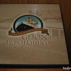 Libros de segunda mano: LIBRO GIJON TRASATLANTICO EDICION LIMITADA AÑO 2002. Lote 67830357