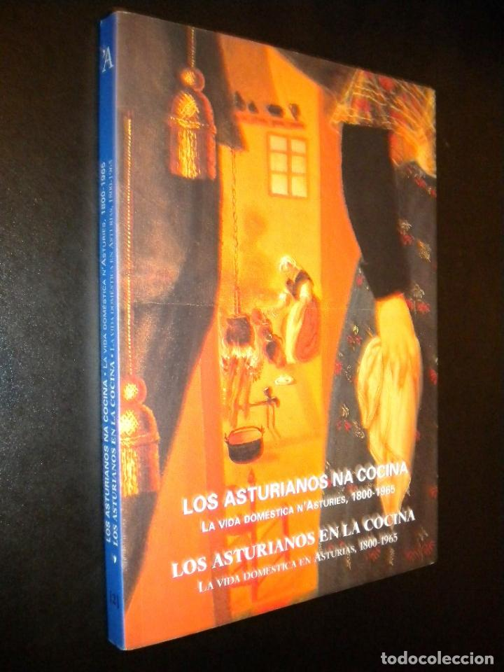 LOS ASTURIANOS EN LA COCINA / LA VIDA DOMESTICA EN ASTURIAS 1800-1965 (Libros de Segunda Mano - Historia - Otros)