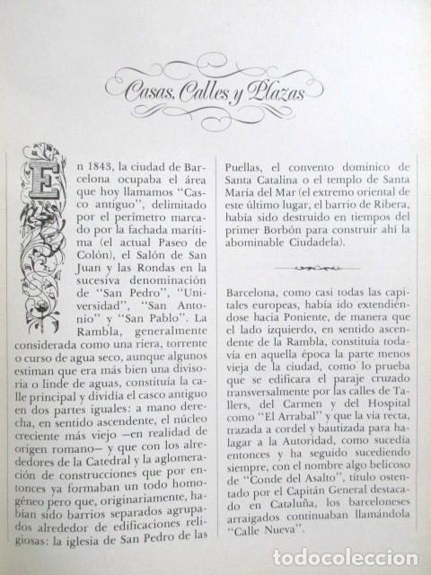 Libros de segunda mano: CINCUENTA AÑOS DE LUZ DE GAS, BARCELONA EN LA SEGUNDA MITAD DEL SIGLO XIX, TAPA DURA, MUY RARO. 1978 - Foto 8 - 67887457