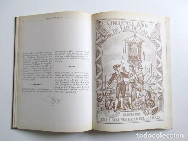 Libros de segunda mano: CINCUENTA AÑOS DE LUZ DE GAS, BARCELONA EN LA SEGUNDA MITAD DEL SIGLO XIX, TAPA DURA, MUY RARO. 1978 - Foto 9 - 67887457