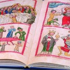 Libros de segunda mano: FACSÍMIL DEL SPECULUM HUMANAE SALVATIONIS (S. XIV) GRAN FORMATO. Lote 74740774