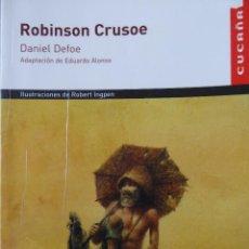 Libros de segunda mano: ROBINSON CRUSOE. DANIEL DEFOE. Lote 67936545