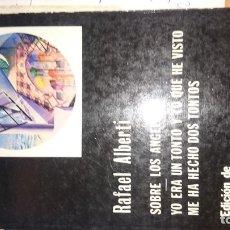 Libros de segunda mano: SOBRE LOS ANGELES. Lote 67975873
